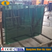 BL 6 mm dark green tempered reflective glass