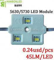 3pcs samsung 5630 /5730 led module h different beam angle 5 years warranty