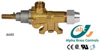 gas cooking apparatus security safety brass valve