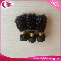 Wholesale Unprocessed nature girl hair weave