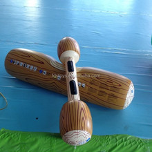 High quality inflatable floating wood raft