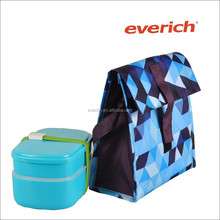 hot sale polyester insulated lunch bag lunch tote cooler lunch bag for office