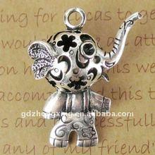 Zinc alloy elephant pendant lovely pendant