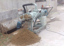 high quality poultry Manure dewater machine