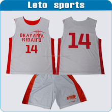 custom reversible team basketball jerseys/dri fit basketball jerseys