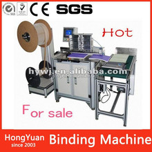 High quality Office stationery promotional wire machine , ouble loop wire book binding machine
