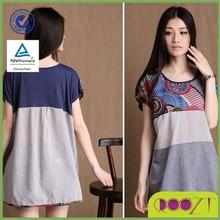 New 2015 Women Short Sleeve T Shirt Fashion Casual Irregular Linen Plus Size blouse