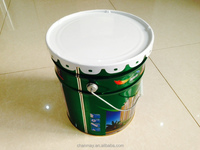 18L metal drum with steel handle for paint, coating or other chemical products