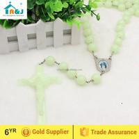 Big Plastic bead Luminous Wall Rosary