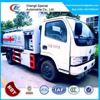 Mini oil tanker truck,oil refuel tanker truck,mobile gas refueling truck 4000L