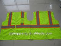 Hi-vis String Vest with Pockets