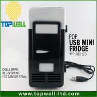 freezer Refrigerator Beverage Drink water Cans Cooler mini usb pepsii fridge