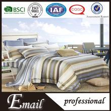 American/European style stripe elegant tencel luxury high level silk bedding set