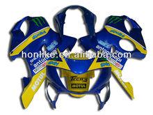 CBR600 F4 for Honda CBR 600 F4 1999 2000 CBR600RR F4 99-00 CBR 600RR F4 1999-2000 ABS Body Kits Blue Yellow