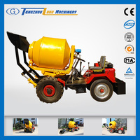 SD800 concrete mixer self loading