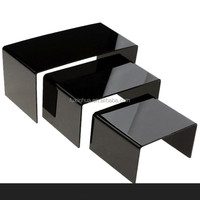 transparent black acrylic sheets/ UV transparent glass black transparent acrylic sheets/ transparent film glass