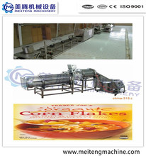 crisp Corn flakes production machine