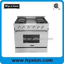 "36"" Gas Style gas cooker enamel oven kitchen range"