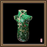 Excellent quality hot sale fabric wine bottle cover