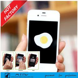 Mobile phone screen cleaner /wipe sticker