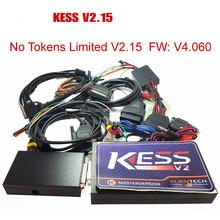 KESS V2 V2.15 2015 Newest OBD2 Manager Tuning Kit NoToken Limit Kess V2.15 Master FW V4.036 Master version ecu chip tuning tool