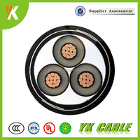 3*240 xlpe insulated na2xy n2xsy medium voltage power cable