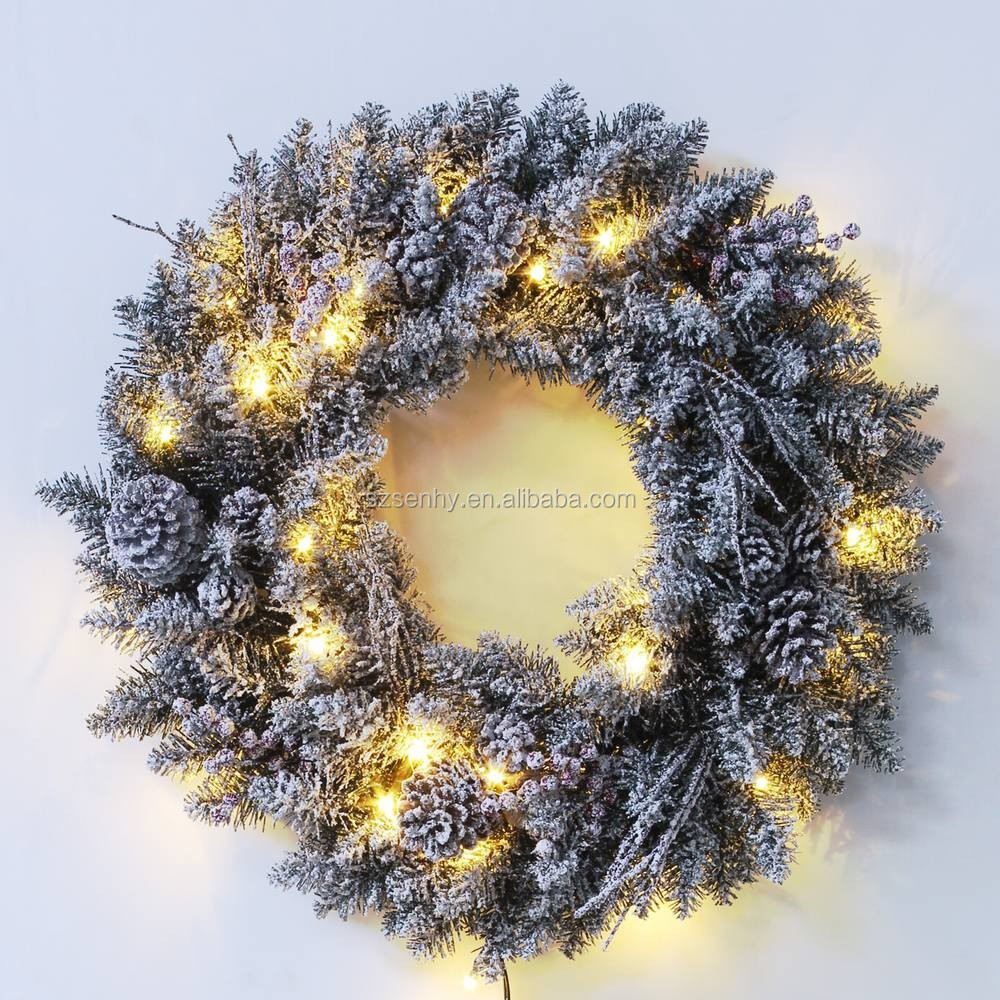lighted outdoor christmas wreaths bulk christmas wreaths buy lighted. Black Bedroom Furniture Sets. Home Design Ideas