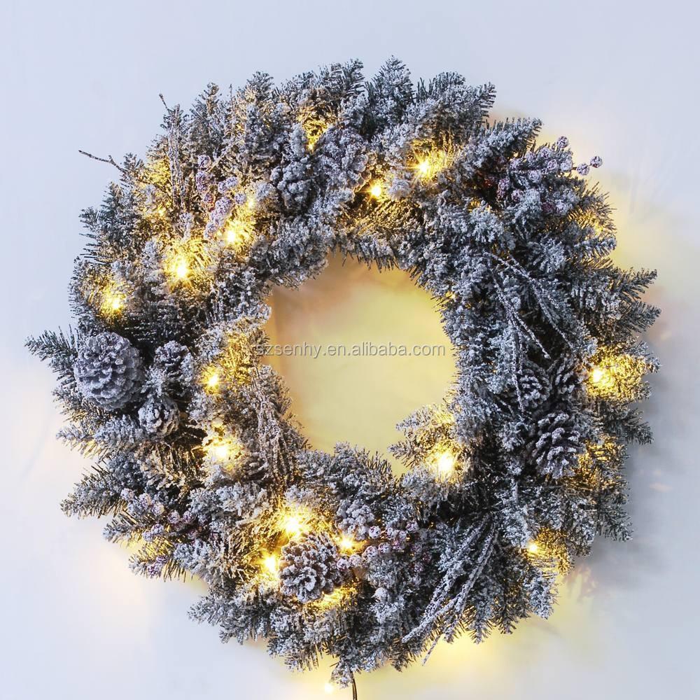 lighted outdoor christmas wreaths bulk christmas wreaths buy lighted. Black Bedroom Furniture Sets. Home Design Ideas