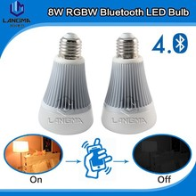 Wireless Bluetooth light, bluetooth lamp, LED Bluetooth music bulb lights Brightness Dimmable