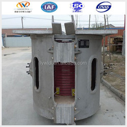 the latest factory price 500KW industrial aluminum melting holding furnace (Series Connection)