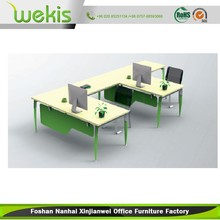 Modern Office Furniture Laptop Table Office Computer Desk Two Seats