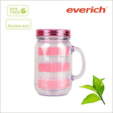 20 oz double wall acrylic tumbler with straw wholesale