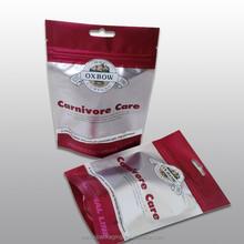 Resealable zipper plastic bag/food packaging bag for shortbread