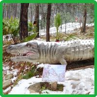 Patience low temperature mechanical crocodile model,animal crocodile