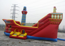 newest inflatable pirate ship jumping castle/ pirate ship bouncy castle/ pirate ship bounce house