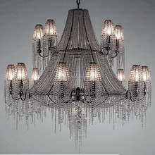 Crystal Chain Luxury Hotel Chandelier