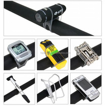 Mountain Bike Pedal Fixing Elastic Strap Silicone Mobile Phone Holder For Bike