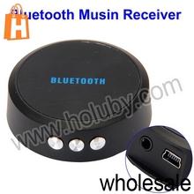 Portable Mini Bluetooth 3.0 Music Receiver Speaker Audio Music Adapter for iPhone 4S 5 iPad Samsung Galaxy S5 Smartphone Laptop