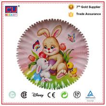 low price biodegradable environmental custom paper plate
