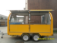 kitchen caravan mobile food caravan caravan trailer for sale