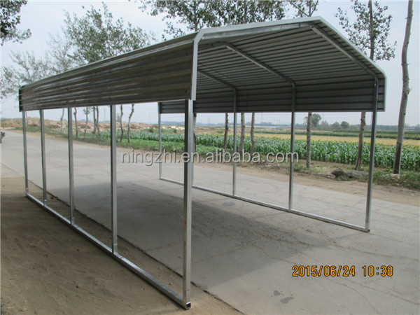 Metal Vehicle Shelters : New style metal car shelters for parking shades buy
