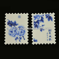 China Ceramic Souvenir Postage Stamps