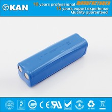 KAN Ni-MH 9.6V 8xaa 1000mA rechargeable nimh Battery pack for robotic vacuum cleaner with ROHS and IEC certified