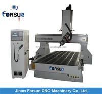 CE supply Hot Sale 4 Axis 5 Axis High Z Mould Cnc Machine/High precision 6090 mini 4 axis cnc machinery