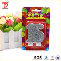 wedding decoration candle factory from china/colorful candle/candle making supplies