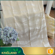China Manufacturer Factory price Luxury Multi-color ready made jacquard curtains