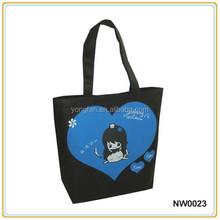 Fashion New Non Woven Shopping Bag Tote Bag Printing Custom Logo