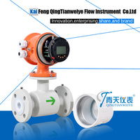 High temperature and pressure boiled water flow meter
