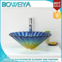 Foshan Manufacturer Decorative Brown Plexiglass Wash Basin Toilet