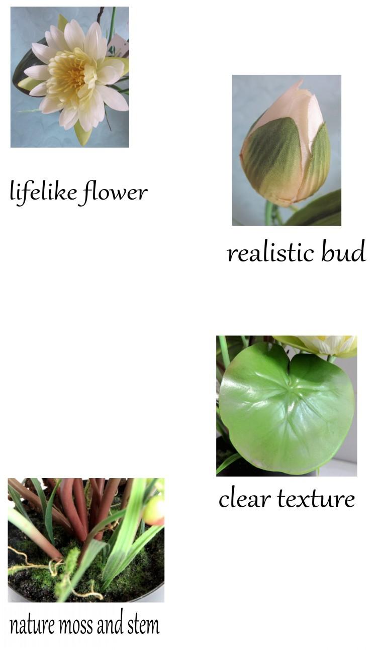 Hot sale artificial flowers silk lotus flowers artificialartificial 1conew2g izmirmasajfo